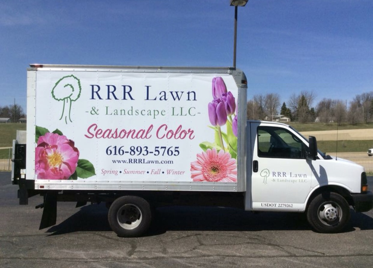 RRR Lawn and Landscaping Truck
